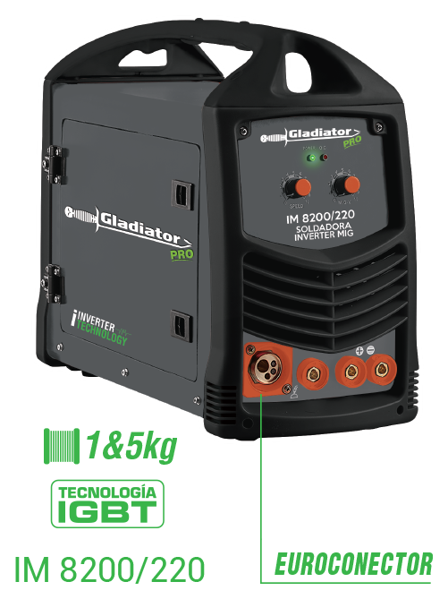 Inverter Mig Welding Machine Im 8200 120 Gladiator